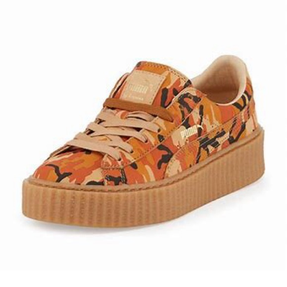 official photos 58115 caba6 Fenty Puma Camouflage Rihanna creeper Sneakers 7.5